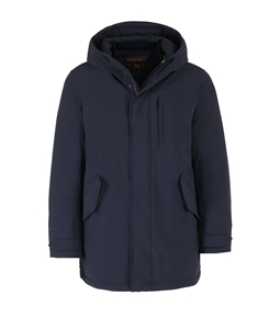 Woolrich - Giubbotti - stretch military parka classic navy