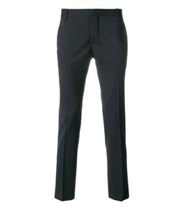 Entre Amis - Pantaloni - pantalone lana tk america corto blu