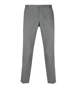 Entre Amis - Pantaloni - pantalone lana tk america corto grigio
