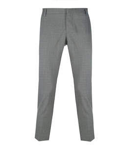 Entre Amis - Outlet - pantalone lana tk america corto grigio