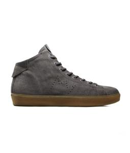 Leather Crown - Scarpe - Sneakers - sneaker lc classic high smoke