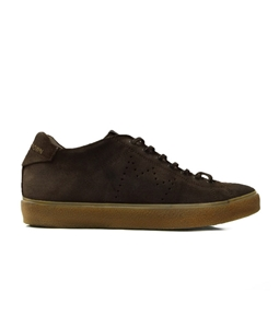 Leather Crown - Outlet - sneaker lc classic low moro