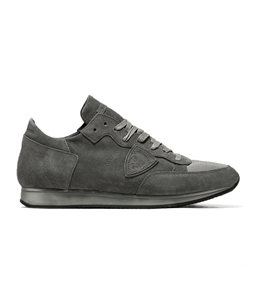 Philippe Model Paris - Scarpe - Sneakers - sneaker in suede tropez daim gris