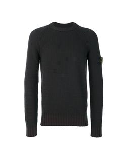 Stone Island - Maglie - Felpe - maglia girocollo in lana muschio