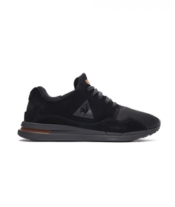 Le Coq Sportif - Scarpe - Sneakers - lcs r pure suede/mesh black/cognac