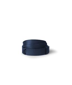"""Orciani - Cinture - cintura nobuckle""""bosphore"""" in pelle blu'"""