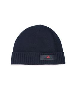 Peuterey - Accessori - berretto in lambswool blu
