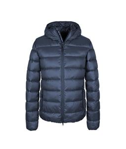 Refrigue - Giubbotti - rask piumino con cappuccio blu