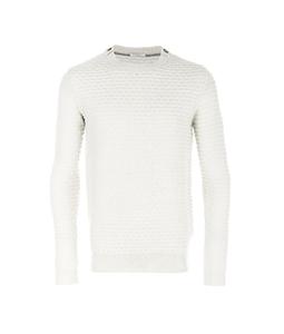 Paolo Pecora - Maglie - Felpe - maglione in lana vergine bianco