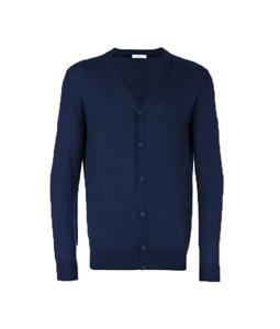 Paolo Pecora - Maglie - Felpe - cardigan in lana blu