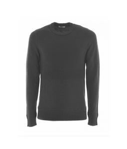 Paolo Pecora - Maglie - Felpe - pullover in lana girocollo grigio
