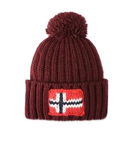 Napapijri - Outlet - berretto semiury bordeaux