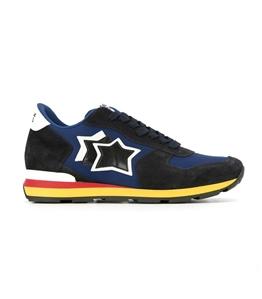 Atlantic Stars - Scarpe - Sneakers - sneakers antares in suede dark blu