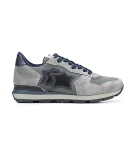 Atlantic Stars - Saldi - sneakers antares in suede dusty grey