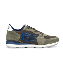 Atlantic Stars - Scarpe - Sneakers - sneakers antares in suede military aloe