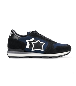 Atlantic Stars - Saldi - sneakers sirius in suede blu navy