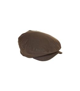 Barbour - Cappelli - cheviot wax tartan cap olive green