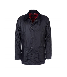 Barbour - Giubbotti - ashby wax jacket black