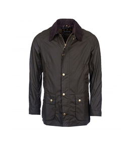 Barbour - Giubbotti - ashby wax jacket olive green