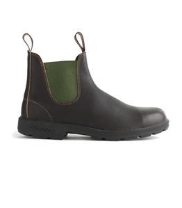 Blundstone - Scarpe - Sneakers - 519 el side boot stout brown/olive el