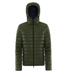 Ciesse Piumini - Giubbotti - franklin - 800fp light down hoody jacket green moss
