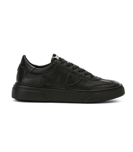 Philippe Model - Scarpe - Sneakers - temple - veau noir noir