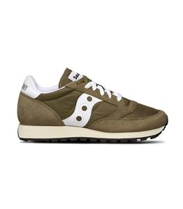 Saucony - Saldi - sneakers jazz o' vintage olive/white