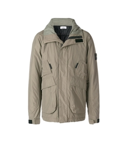 Stone Island - Giubbotti - micro reps with primaloft insulation technology verde oliva