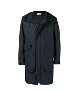 Stone Island - Giubbotti - micro reps with primaloft insulation technology carbone