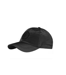 Stone Island - Cappelli - cappellino nylon metal nero