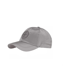 Stone Island - Cappelli - cappellino nylon metal grigio