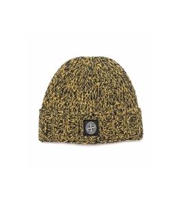 Stone Island - Cappelli - berretto in lana senape