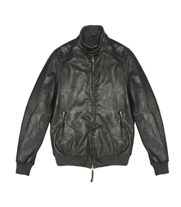 The Jack Leathers - Giubbotti - jason leather jacket verde