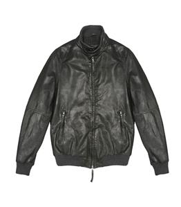 The Jack Leathers - Saldi - jason leather jacket verde