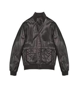 The Jack Leathers - Saldi - malcom leather jacket t. moro