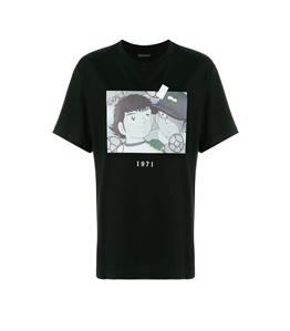 Throwback - T-Shirt - t-shirt holly& benji black