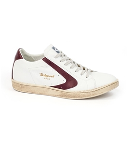 Valsport - Scarpe - Sneakers - tournament nappa white/bordeaux