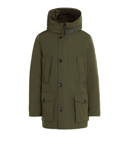 Woolrich - Giubbotti - city parka dark green