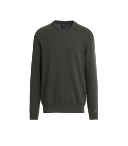Woolrich - Maglie - maglione supergeelong rosin green
