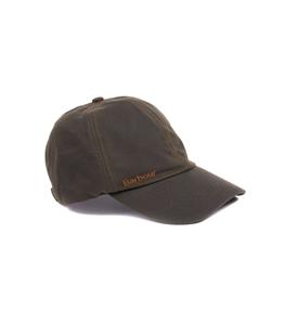 Barbour - Cappelli - wax sports cap olive