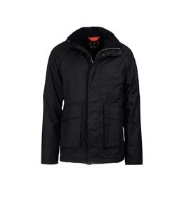 Barbour - Giubbotti - fohn wax cotton jacket black