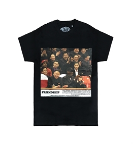 Bastille - T-Shirt - t-shirt con stampa in velluto friendship