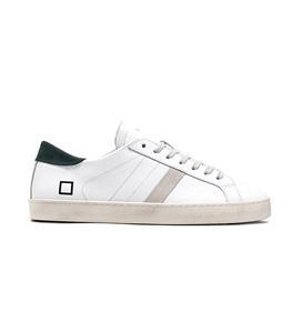 D.A.T.E. - Scarpe - Sneakers - hill low calf white green
