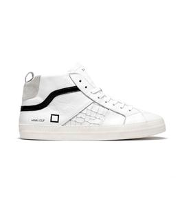 D.A.T.E. - Scarpe - Sneakers - hawk calf white black