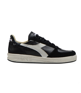 Diadora Heritage - Scarpe - Sneakers - b.elite h leather dirty nera