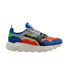 Diadora Heritage - Scarpe - Sneakers - rave leather pop blu notte