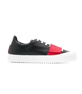 GCDS - Scarpe - Sneakers - logo sneakers black/red