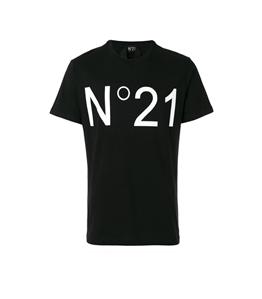 N°21 - T-Shirt - t-shirt con logo black