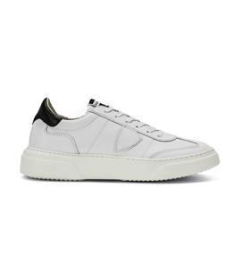 Philippe Model - Scarpe - Sneakers - temple - veau blanc noir