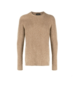 Roberto Collina - Maglie - brushed sweater cammello